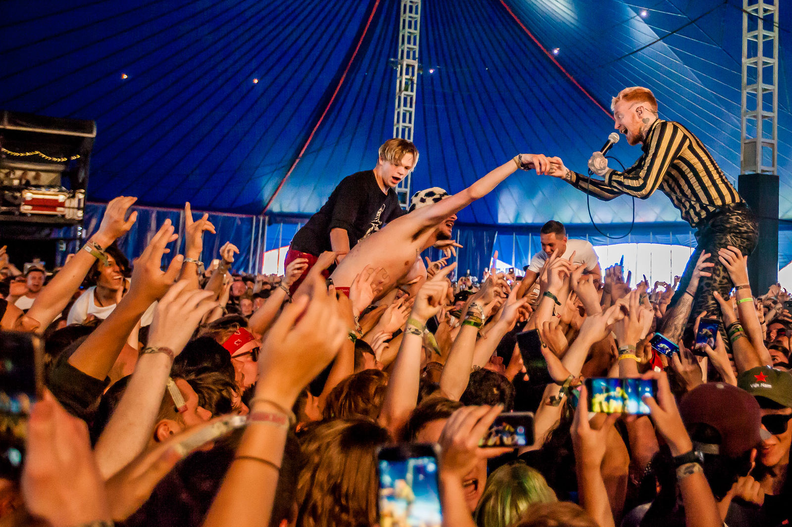Reading Festival 2017: Frank Carter & The Rattlesnakes Interview